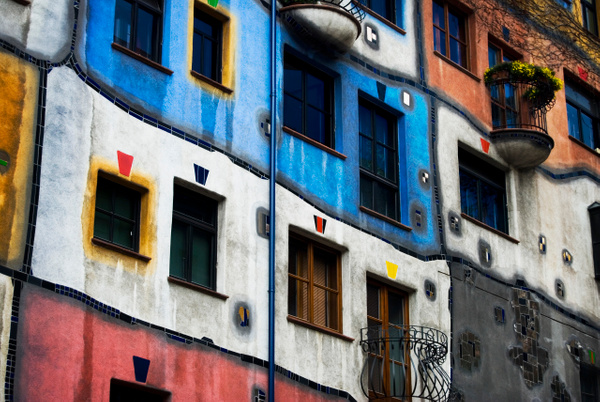 Hundertwasserhaus - The World - Steve Juba Photography