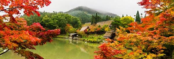 Hida Colors Folk Village - Landscape -  Steve Juba Photography