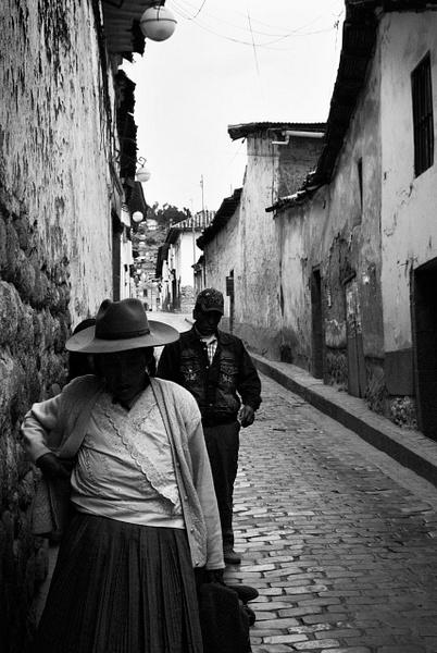 dark alley woman BW - People & Culture - Steve Juba Photography
