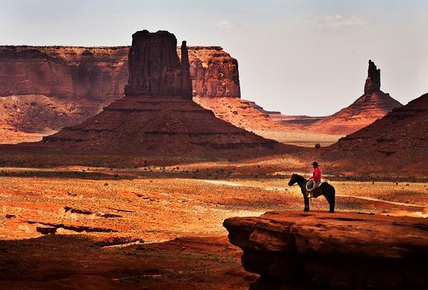 Monument Rider - Landscape -  Steve Juba Photography
