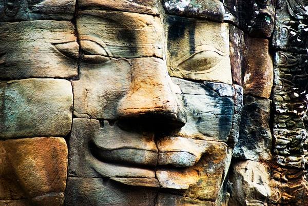 Angkor Face - People & Culture - Steve Juba Photography