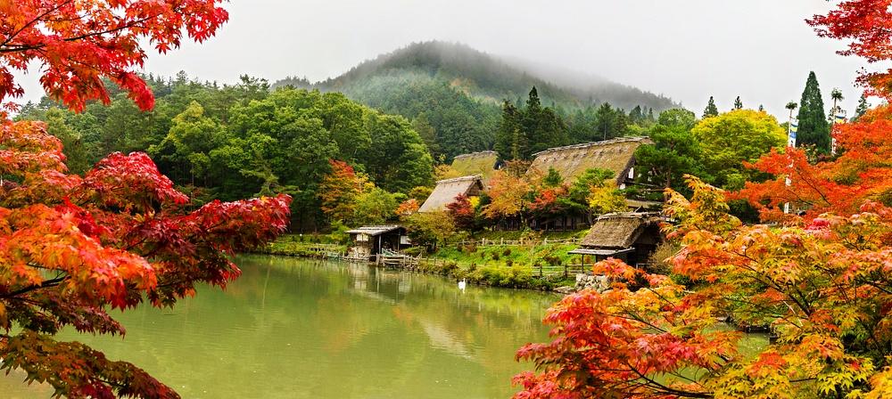 Hida Colors Folk Village high res