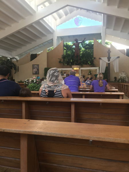 Church services in Cancun at Parroquia de Cristo...