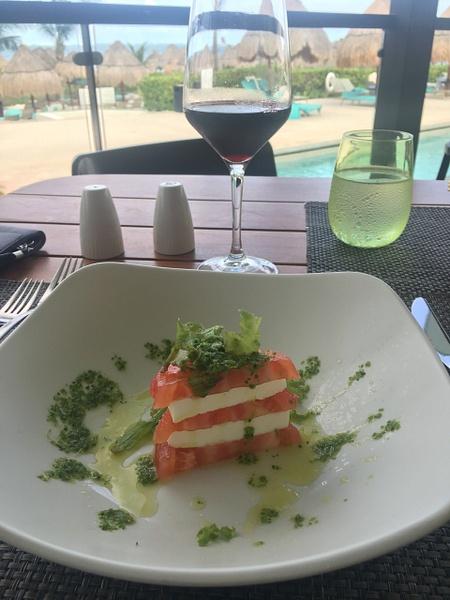 Caprese Salad at Insieme Trattoria by Lovethesun