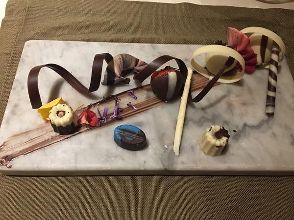 Dessert at Brass Steakhouse by Lovethesun