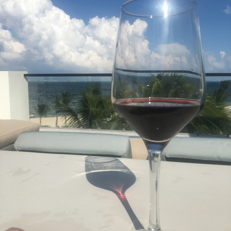 Afternoon wine