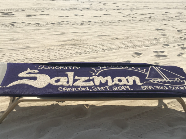 Towel Art at the EC Beach by Lovethesun