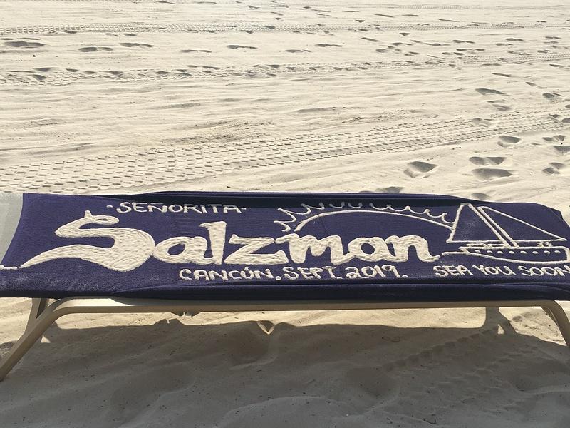 Towel Art at the EC Beach