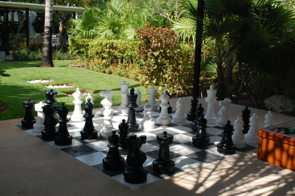 Chess in Games area by Lovethesun