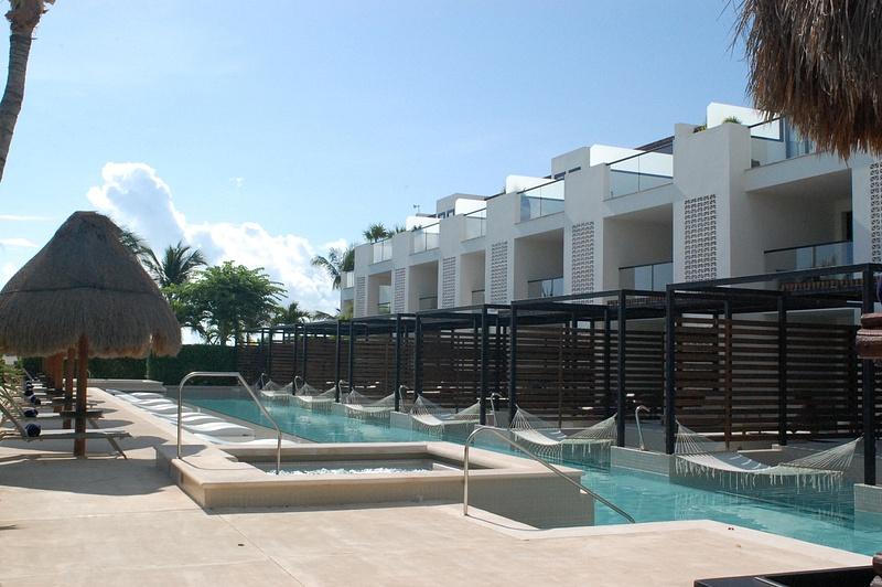 EC pool at building 6