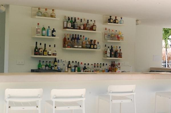 Seaside bar at building 6 by Lovethesun