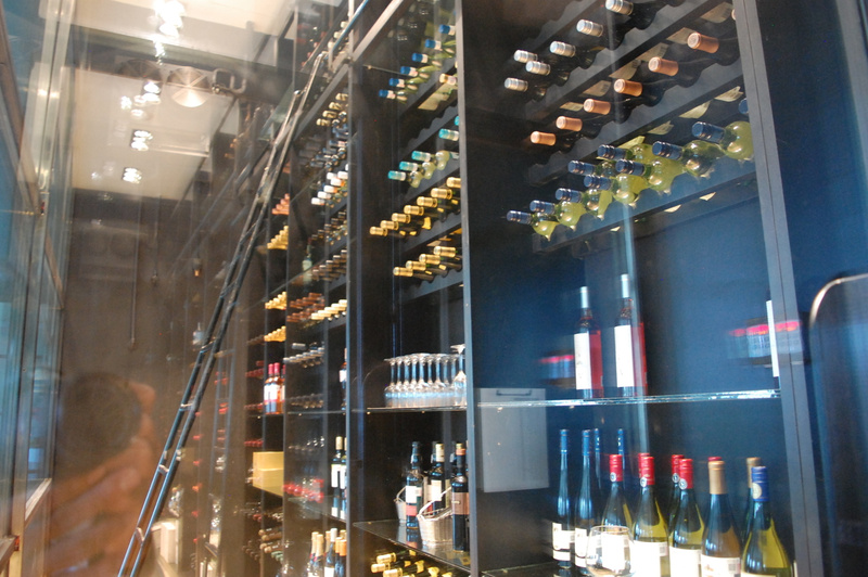 Wine Cellar at Le Petit