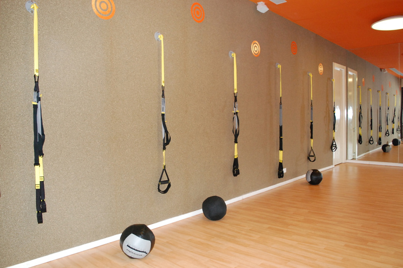 TRX in the Fitness Center