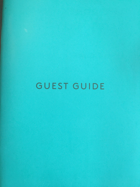 Guest Guide by Lovethesun