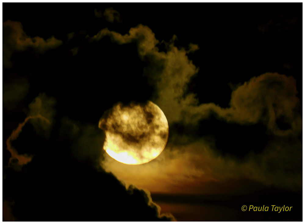 Mysterious Super Moon