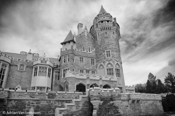 Casa-Loma-BW by LuminousLight