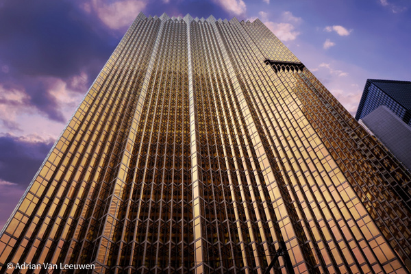 Gold-Tower-Bank by LuminousLight