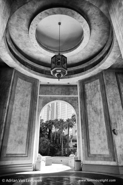 Arch-Mandalay-Bay-Hotel-Vegas-BW by LuminousLight