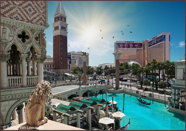 Venetian-View-Vegas by LuminousLight