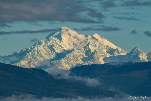 Mt Baker - Morning Light - Landscapes - Rising Moon NW Photography