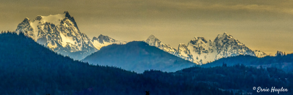 Cascade Mountains Near Mt Vernon - Landscapes - Rising Moon NW Photography