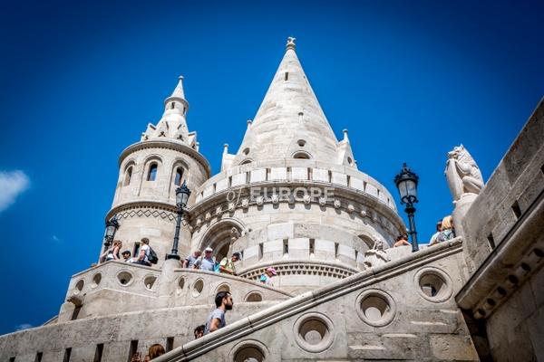 Buda-Castle-Fishermens-Bastion-Budapest-Hungary - Photographs of Budapest, Hungary.