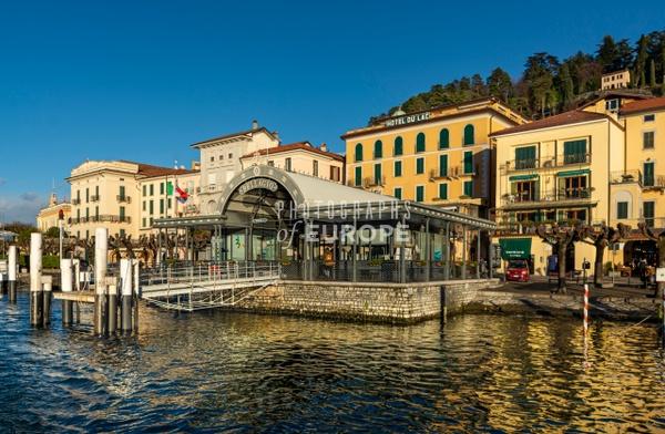 Bellagio-ferry-stop-Lake-Como-Italy - Photographs of Lake Como, Italy.