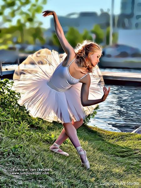 Ballerina-Lake-Color-07 - People Illustrations - LuminousLight