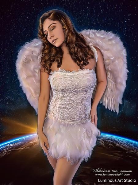 White-Angel-05 - People Illustrations - LuminousLight