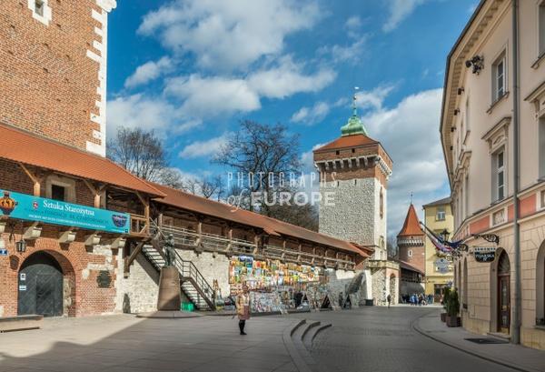 City-wall-Krakow-Poland - Krakow, Poland