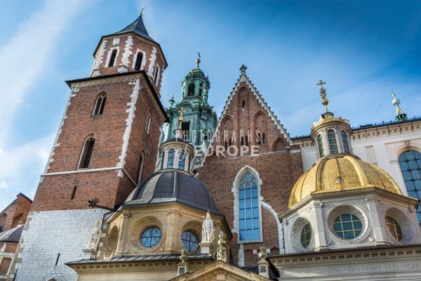 Wawel-Cathedral-roof-details-Krakow-Poland - Krakow, Poland