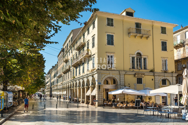 Liston-Corfu-Old-Town-Greece - Photographs of Corfu Old Town, Greece.
