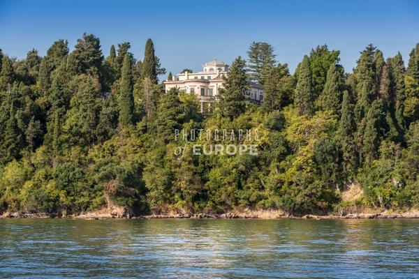 Mon-Repos-Palace-Prince-Philip-Corfu-Greece - Photographs of Corfu Old Town, Greece.