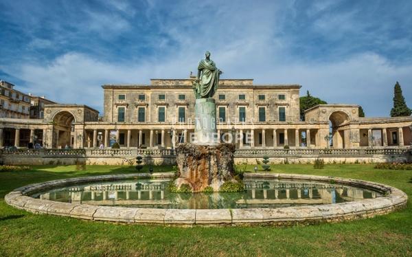 Museum-of-Asian-Art-Royal-Palace-Corfu-Old-Town-Greece - Photographs of Corfu Old Town, Greece.