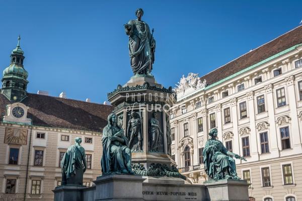 Emperor-Francis-I-statue-Hofburg-Vienna-Austria - Photographs of Granada, Spain