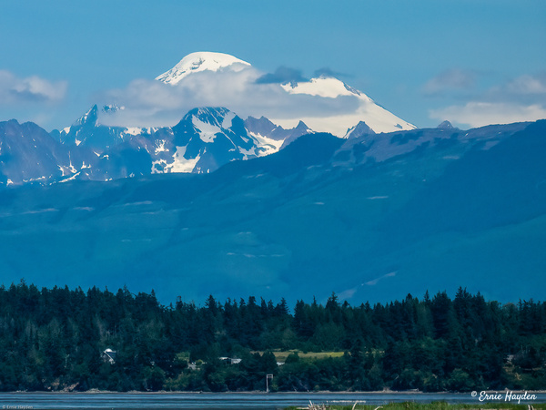 Mt Baker from Anacortes - Looking Over Padilla Bay - Landscapes - Rising Moon NW Photography