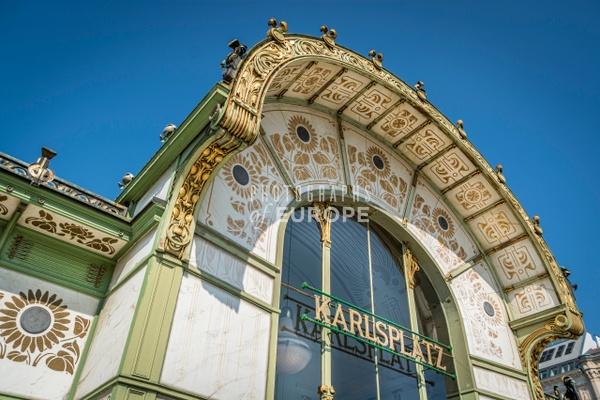 Karlsplatz-station-roof-decoration-Vienna-Austria - Photographs of Granada, Spain