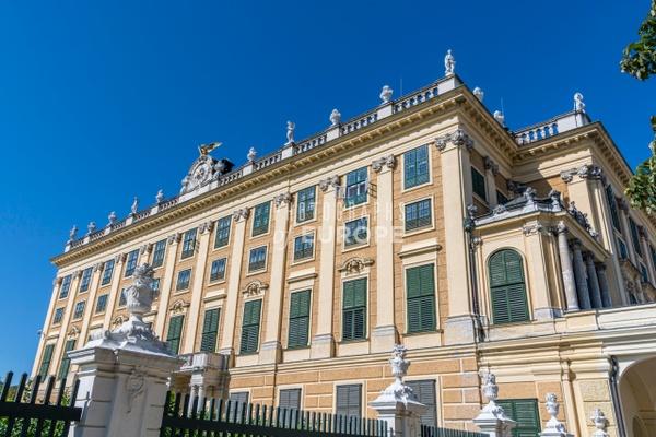 Schönbrunn-Palace-side-elevation-Vienna-Austria - Photographs of Granada, Spain