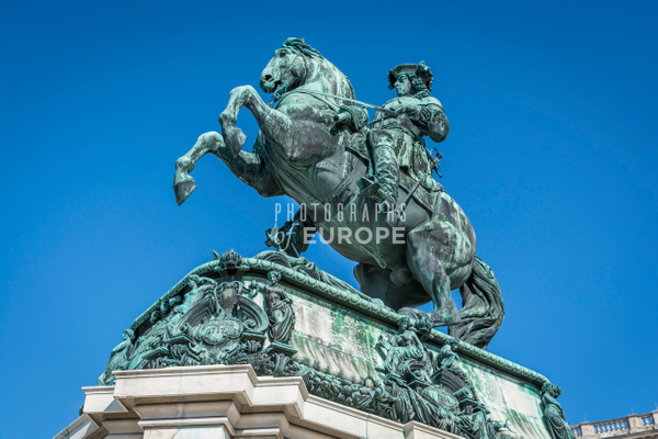 Statue-of-Prince-Eugene-Hofburg-Palace-Vienna-Austria - Photographs of Granada, Spain