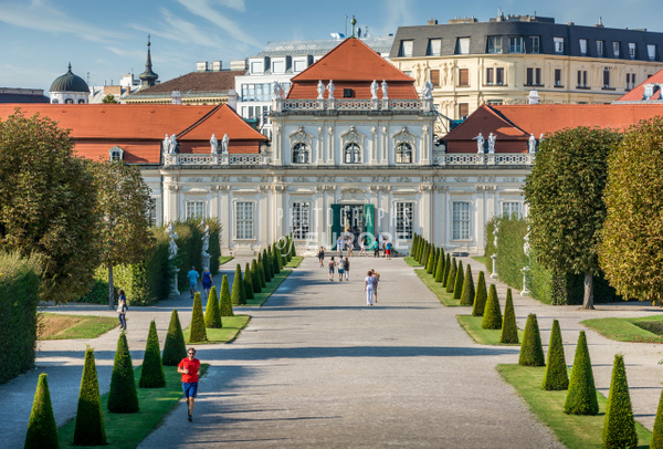 Orangery-entrance-Belvedere-Palace-Vienna-Austria - Photographs of Granada, Spain