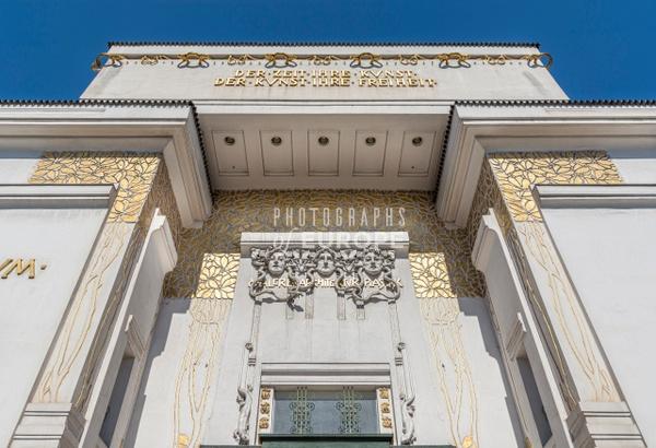 Secession-Building-entrance-Vienna-Austria - Photographs of Granada, Spain