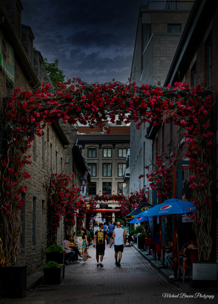 Montreal Old Town_3 by MichaelBrownPhotography