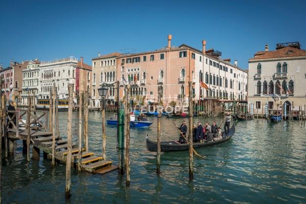 Canal-crossing-outside-Fish-Market-Venice-Italy - Photographs of Venice, Italy..