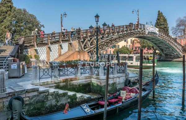 Academia-Bridge-across-Grand-Canal-Venice-Italy - Photographs of Venice, Italy..