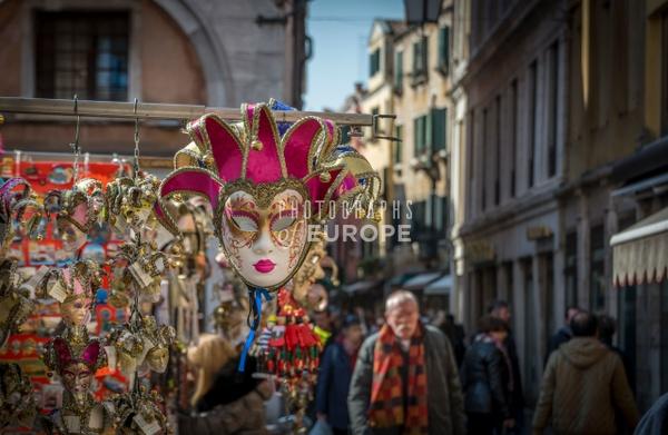 Carnival-mask-Venice-Italy - Photographs of Venice, Italy..