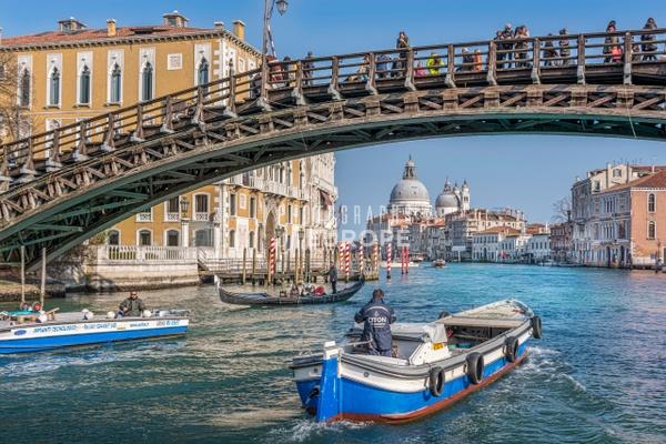 Basilica-di-Santa-Maria-della-Salute-Grand-Canal Venice-Italy-2 - Photographs of Venice, Italy..