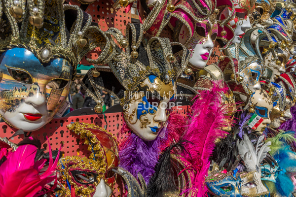 Carnival-masks-Venice-Italy - Photographs of Venice, Italy..
