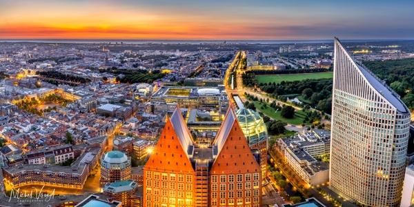 Den Haag Skyline - Cityscape - Michel Voogd Photography