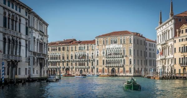 Palazzo-Giustinian-and-Grand-Canal-Venice-Italy - Photographs of Venice, Italy..