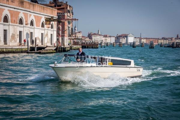 Taxi-boat-Venice-Italy - Photographs of Venice, Italy..